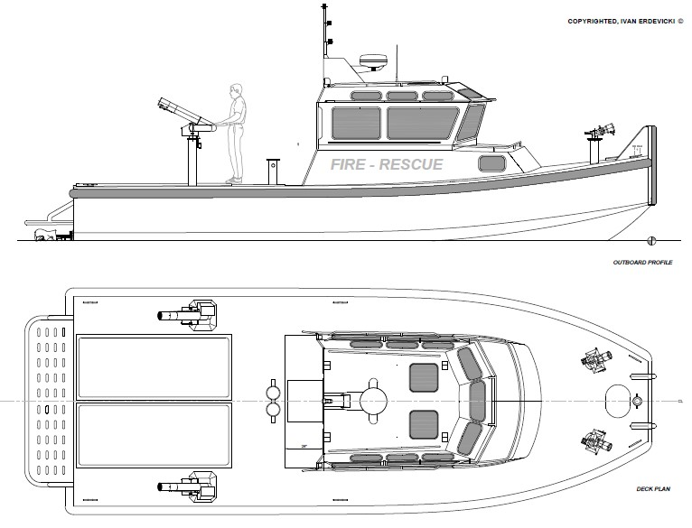 ER 36 - Fire - ER Workboats - Small